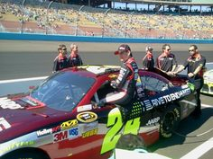 Jeff Gordon climbs inside his No. 24 Drive to End Hunger Chevrolet before qualifying at Phoenix International Raceway on March 3.