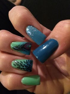 Nails done by Jessica Anderson at Karma Salon 715-685-2762 www.karmasalonwi.com #NailArt #NailDesign #Nails