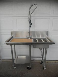 fish cleaning station add to outdoor kitchen