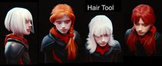 Hair Tool for Blender
