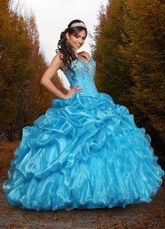 Vestidos de 15 años vaporosos de Davinci Bridal