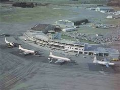 Early Christchurch airport Christchurch New Zealand, Air New Zealand, Commercial Aircraft, Back In Time, Canterbury, Airports, Auckland, What Is Like, Homeland