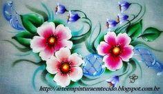 pano de prato flores silvestres