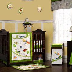 Cute as a Bug 11 Piece Nursery Baby Bedding by Kidsline KidsLine,http://www.amazon.com/dp/B00EJZPKT8/ref=cm_sw_r_pi_dp_yPC0sb1E5BVCDH0K