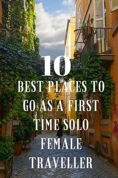 Solo Female travel, solo Female vacation