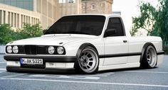 Here's Another Take On A BMW E30 Pickup
