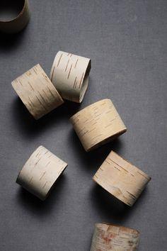BHLDN Split Birch Napkin Rings