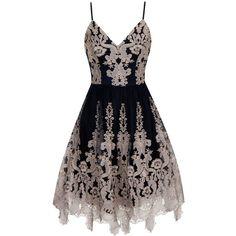 Chi Chi London Metallic V-Neck Tea Dress - Fashion Trends Navy Blue Summer Dress, Navy Blue Midi Dress, Short Summer Dresses, Blue Evening Dresses, Trendy Dresses, Midi Dresses, Dress Summer, Party Dresses, Navy Blue Cocktail Dress