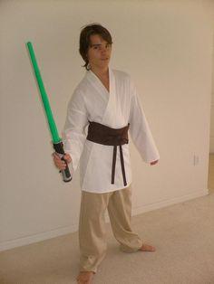 Luke Skywalker Costume Homemade | Luke Skywalker, New Arrival Costumes, Cosplay Costumes