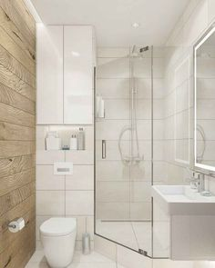 Stunning Small Bathroom Makeover Ideas That Trendy Now - Bathroom - Bathroom Decor Bathroom Pictures, Bathroom Interior, Small Bathroom Makeover, Bathroom Makeover, Small Shower Room, Bathroom Design Small, Shower Room, Small Bathroom Decor, Bathroom Layout