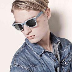 Ray-Ban New Denim Wayfarer  #denim #fashion #trend #summer #rayban #wayfarer #sunglasses