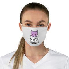 Choose Kindness Mask, Be Kind Reusable Face Mask Funny Face Mask, Face Masks, Nose Mask, Toms, Bubble Letters, Pi Beta Phi, Phi Mu, Sigma Kappa