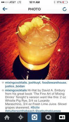 Hi Hat by David Embury 1948