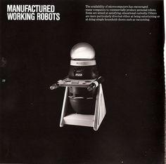 Art, or robot? Working Robots, 1980s, Blog, Art, Art Background, Kunst, Blogging, Performing Arts, Art Education Resources