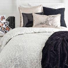 Snow Leopard Duvet Cover Set - Duvet Covers + Quilts - Bed