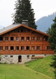 Our Chalet - the girls loved the idea that this place belongs to all of us in Guiding