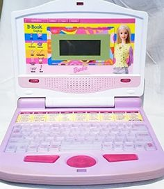 Electronics LCD Phone PlayStatyon: Barbie b-book Laptop Computer Barbie, Notebook Laptop, Laptop Computers, Nintendo Consoles, Playstation, Electronics, Phone, Videogames, Nba