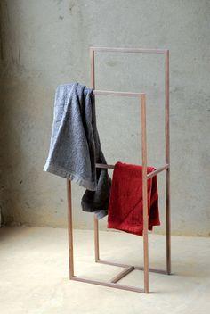 bathroom drying rack
