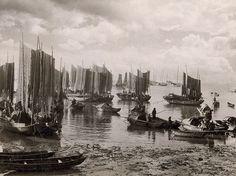 Barche di pescatori, Macao