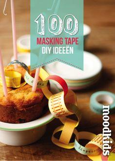 MoodKids Magazine 101 Masking Tape ideeën! - Moodkids | Moodkids