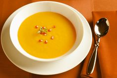 Dr. Weil's Roasted Winter Squash and Apple Soup. Saw this on Dr. Oz site, tried it and Loved it! Love Fall Foods!