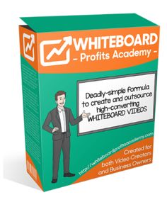 Whiteboard Profits Academy Review is a PDF course that comes with simple tutorial videos that designed for literally everyone.