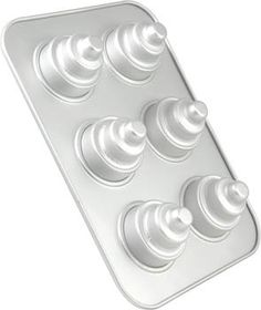 Fat Daddio's Mini 3 Tier Cake Pan 6 Linking  @Niki Morgan!!!  These would make the cutest cupcakes ever!