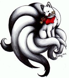 Kitsune Art Print by Bibo. All prints are professionally printed, packaged, and shipped within 3 - 4 business days. Choose from multiple sizes and hundreds of frame and mat options. Zorro Tattoo, Fox Tattoo, Arte Furry, Furry Art, Fantasy Creatures, Mythical Creatures, Fantasy Kunst, Fantasy Art, Cute Drawings