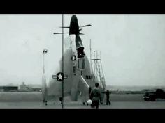 Film: Convair XFY-1 Pogo Takeoff & Landing Test May 18, 1955 US Navy: http://youtu.be/4qPWguMKGiI #VTOL #aviation #history