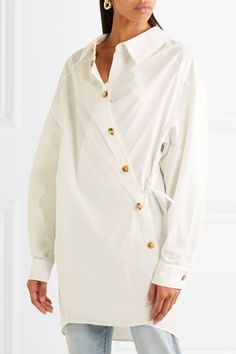 A.W.A.K.E. | Oversized-Hemd aus Popeline aus einer Baumwollmischung | NET-A-PORTER.COM