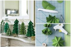 How to make paper craft Christmas trees step by step DIY tutorial instructions thumb 512x342 How to make paper craft Christmas trees step by step DIY tutorial instructions