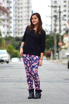 Xá de Amora - Design, Moda e Fotografia: Look - Calça Florida com @lisianeconejo www.xadeamora.com.br