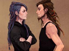 Marco y Dani entre amor y luchas