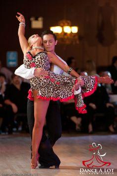 Adriana and Georgi dancing the Rumba