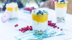 Mango-Cheesecake im Glas: Rezept aus Enie backt Sweet & Easy, Eat Dessert First, Panna Cotta, Bakery, Pudding, Ethnic Recipes, Desserts, Creme, Food