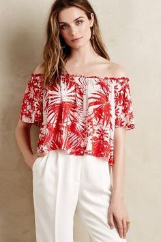Plenty by Tracy Reese Moani Midi Top #anthroregistry