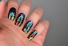 NAILS | BCD NAIL ART Challenge Week 4 - Mosaic Stained Glass Flowers