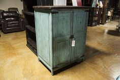 Antique Turquoise Armoire. Interested in this piece? Contact us for more info: 405-947-7710