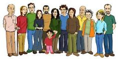 Resultado de imagen de imagenes de familia