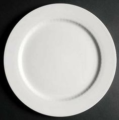 """Villeroy & Boch Amanti Gourmet 12"""" Dinner Plate by Villeroy & Boch. $29.85. Fine china 12 1/2"""" gourmet dinner plate. Dishwaser and Microwave safe. Made in Luxembourg. ALL WHITE,EMBOSSED LAUREL BAND OFF EDGE. Villeroy & Boch-Amanti pattern. Individual Villeroy & Boch Amanti Gourmet 12 1/2"""" dinner plate.  Great replacement plate for that missing item.  All white embossed with Laurel band off edge.  Made in Luxembourg"""