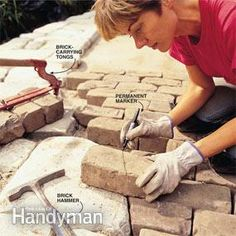DIY:  How To Build A Stone Or Brick Patio