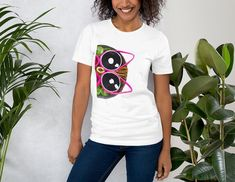 Cute Owl T-Shirt Unisex Tee Quilled Owl Peeking Unique Design With Multiple Pastel Color Options Gift for Couples by FurahaTeees on Etsy Owl T Shirt, Cute Owl, Pastel, T Shirts For Women, Unisex, Couples, Craft, Trending Outfits, Tees