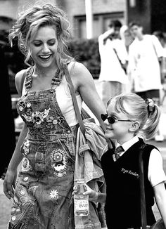 """Brittany Murphy and Dakota Fanning-""""Uptown Girls"""" -forever young ⏳"""