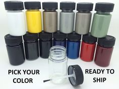 cool Awesome PICK YOUR COLOR -  Touch up Paint Kit w/Brush for MERCEDES-BENZ CAR / SUV 2017/2018