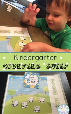 Counting Sheep Kindergarten Counting Centers are a fun and engaging way to teach students counting, missing numbers, skip counting, and more!