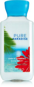 Pure Paradise Travel Size Body Lotion - Signature Collection - Bath & Body Works