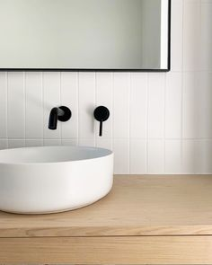 Interior Design Ideas and Inspiration - Tile Cloud Gray Bathroom Walls, White Subway Tile Bathroom, Master Bathroom Shower, Bathroom Renos, Eclectic Bathroom, Modern Bathroom, Small Bathroom, Contemporary Bathrooms, Bad Inspiration