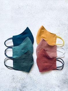 Lino Natural, Natural Linen, Rose Vintage, Homemade Mask, Mouth Mask, Diy Mask, Fashion Face Mask, Mask Design, Mask Making