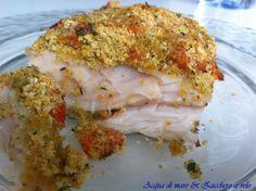 Filetto di persico con panatura croccante al forno