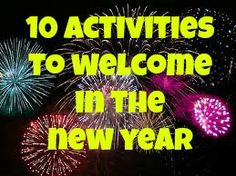 10 Activities to Celebrate the New Year from Sun Hats & Wellie Boots